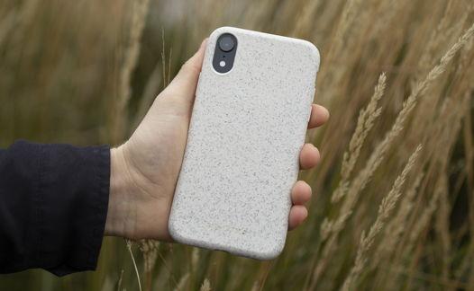 Биоразлагаемый чехол SOLOMA для iPhone X/XS Пшеница