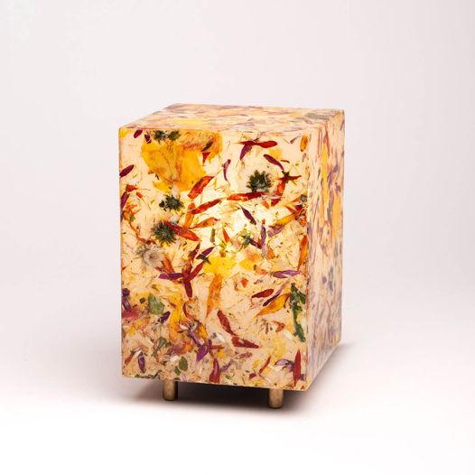 VIAPLANT Columna Mini Flores - Декоративная настольная лампа из цветочных букетов