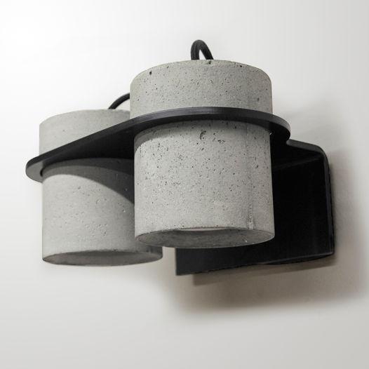 Бетонный настенный Светильник  INTO