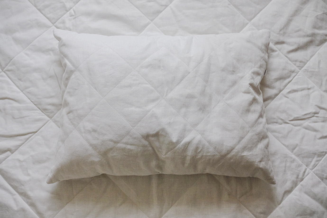 Одеяло изо льна ручной работы
