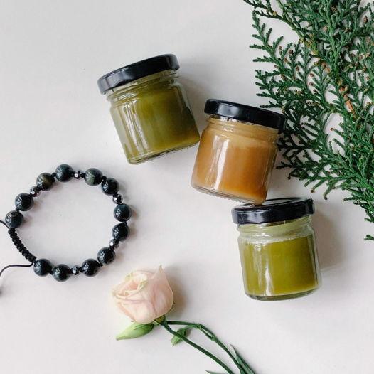 Натуральные бальзамы на травах и эфирных маслах - раскрытие Муладхара чакры