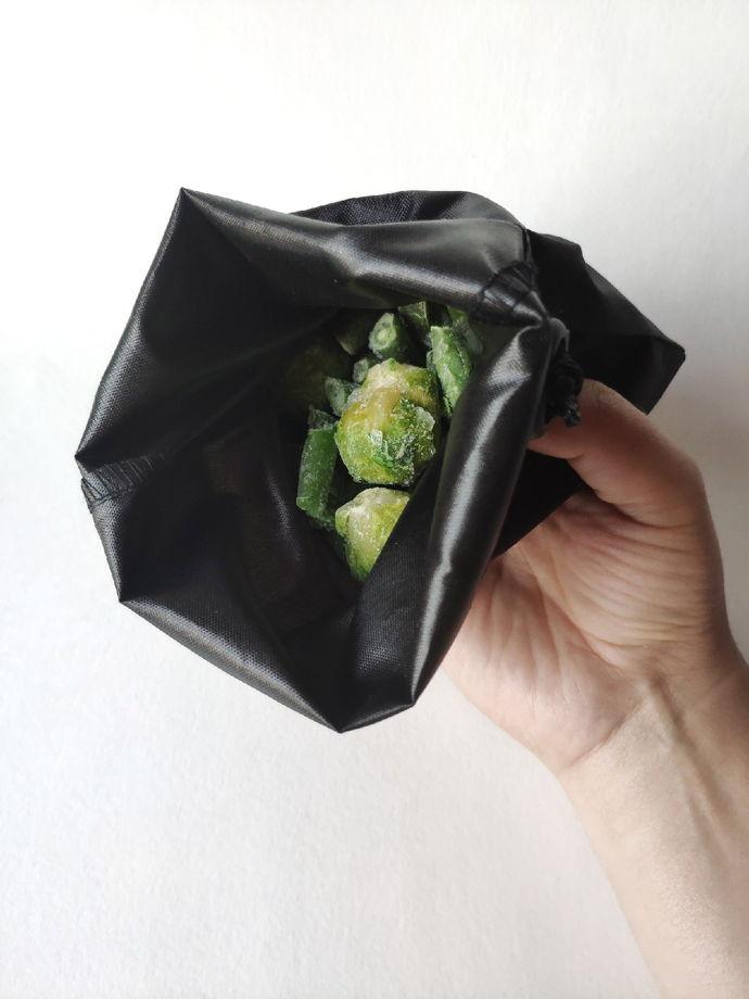 Набор больших мешочков для продуктов из водонепроницаемой ткани 5+1шт