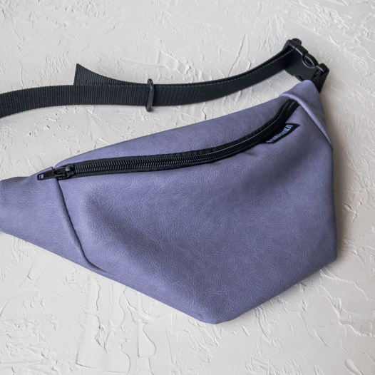Поясная сумка лавандовая/бананка/сумка на пояс.