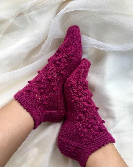 Вязаные носки ,,Сказка''