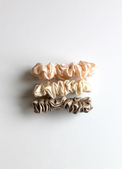 Комплект шёлковые резинки для волос 100% шёлк 3 шт Подарок на 8 марта