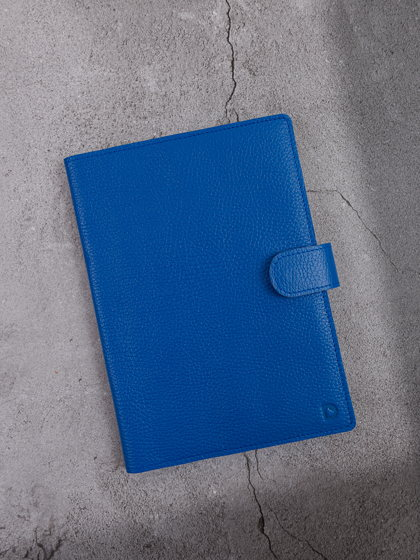 Мини-органайзер для документов А5 Гермес Ярко-синий