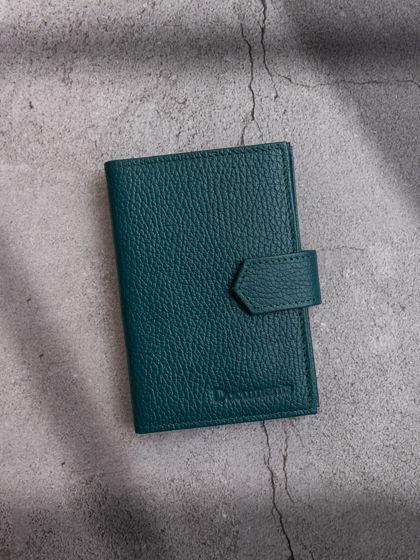 Обложка для автодокументов и паспорта Изумрудный