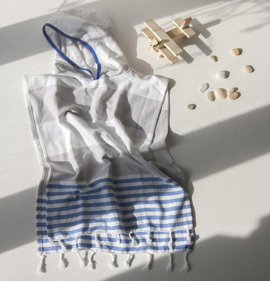 Детская пляжная туника из премиум-хлопка (на возраст 2-3 года)
