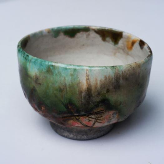 Керамическая чаша - пиала