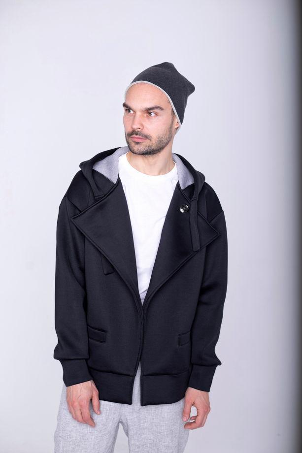 Куртка унисекс чёрная