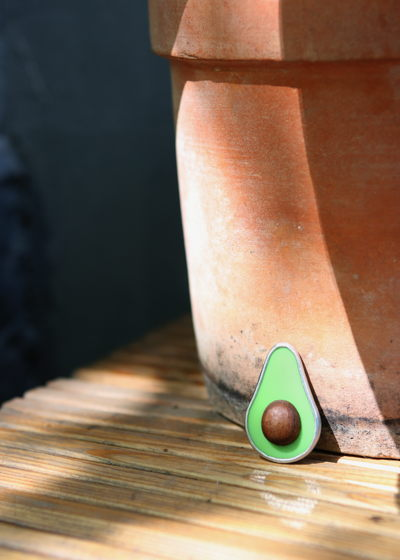 Брошь авокадо CLASSIC GREEN AVO