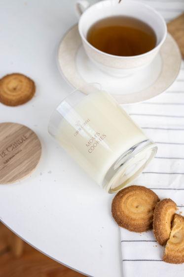 """Ароматическая свеча из кокосового воска """"Mom's cookies"""", 250мл"""
