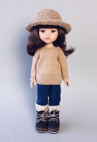 Виниловая куколка Мали