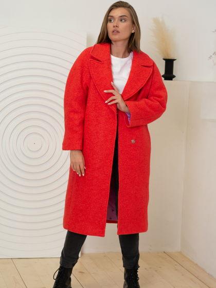 Зимнее утеплённое Пальто