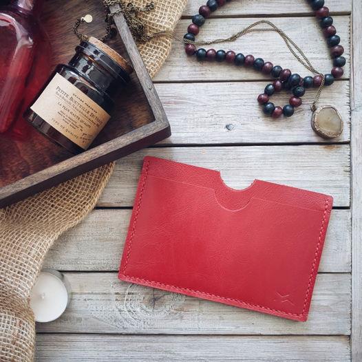 Чехол для паспорта Crab Red