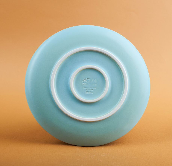 """Тарелка """"Seafruit"""" голубая, 20 см"""