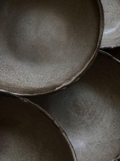 Салатник матовый «Карамель»