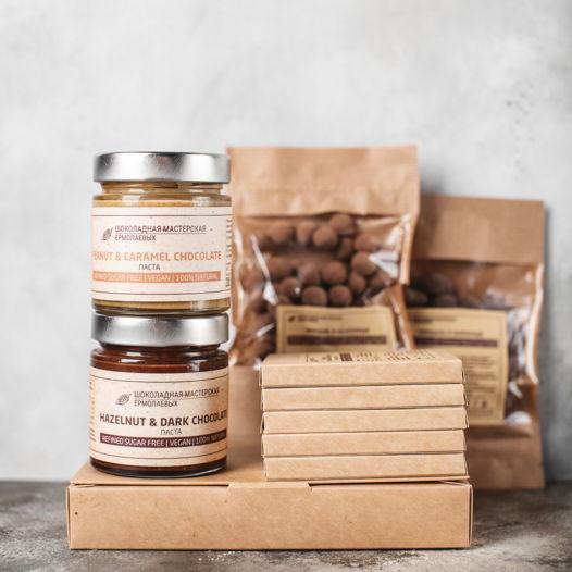 """Набор шоколадных десертов """"50 оттенков шоколадного"""" maxi"""