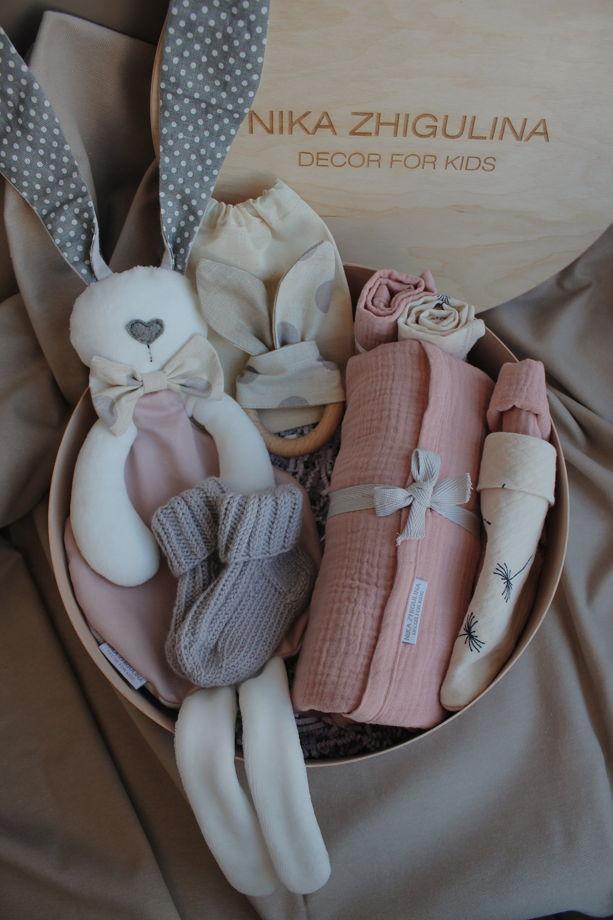 """Подарочный набор BabyBox от NZ """"пудровый"""""""