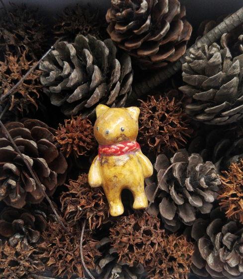 Новогодняя игрушка Мишка, ручная работа