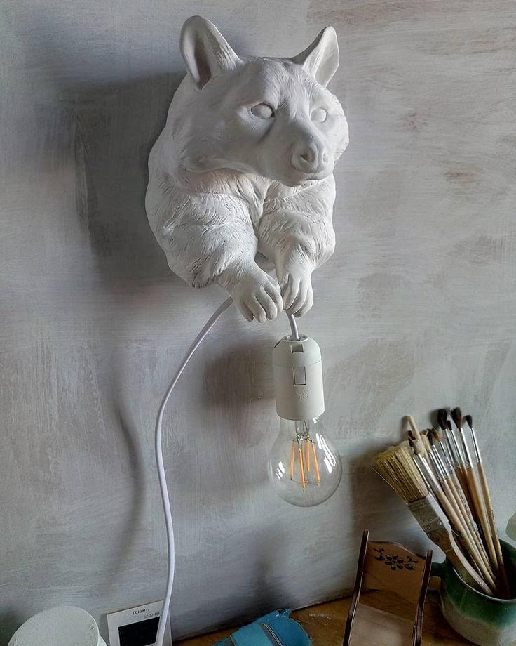 Светильник настенный Енот