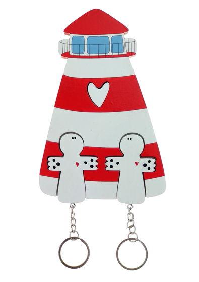 ключница «маяк красный х2»