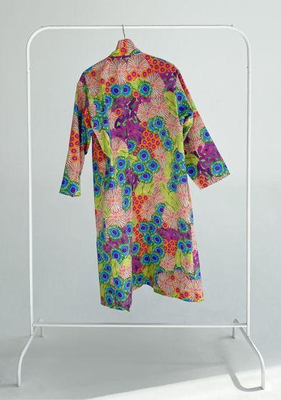 """Длинное  кимоно из плотного хлопка """"Nano"""""""
