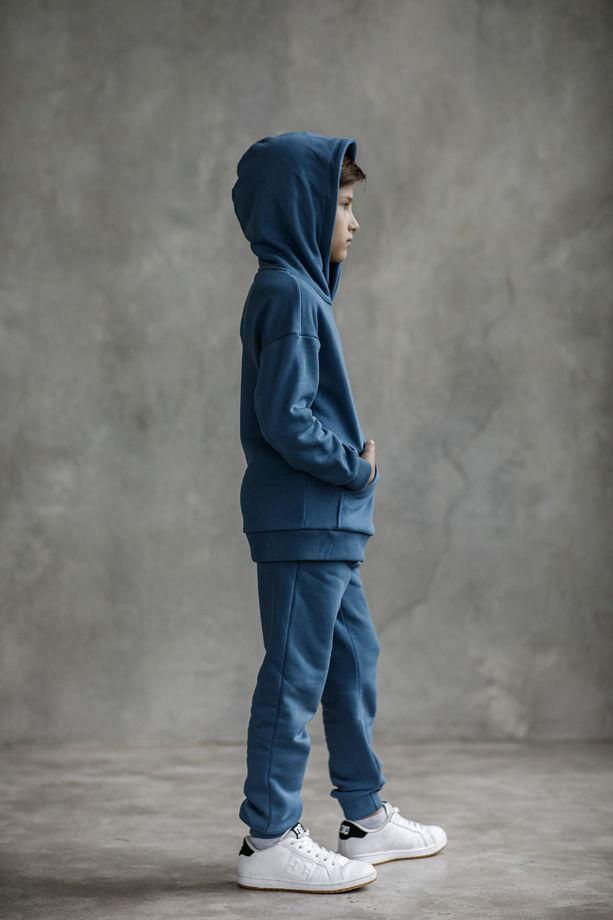 """Детский костюм из футера """"Синий туман"""""""