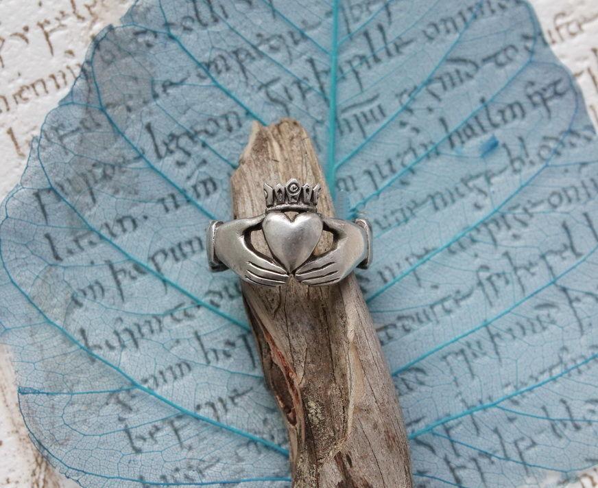 Легендарное кладдахское кольцо (серебро)