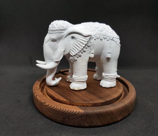статуэтка слон 3д печать