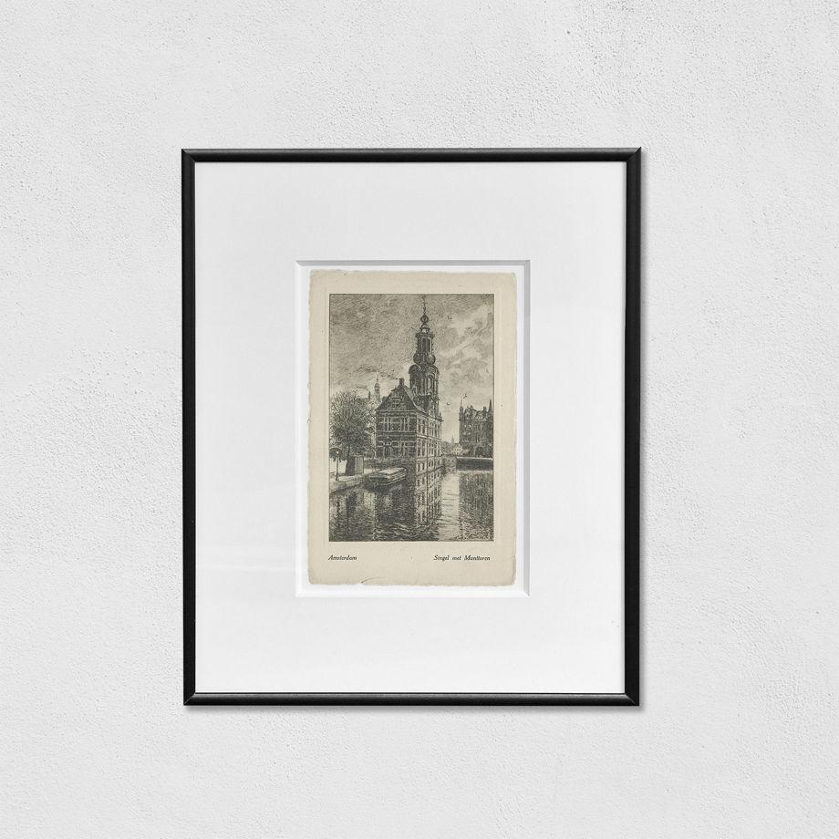 Открытки с видами городов на выбор (оригиналы, 19-20 века): Амстердам, Париж, Венеция, Оксфорд