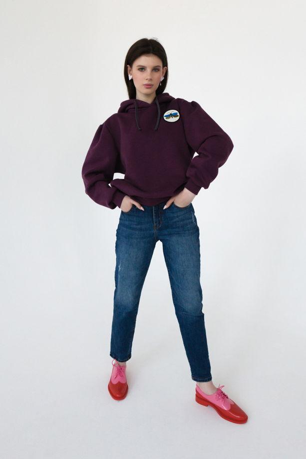 Объемный худи с капюшоном