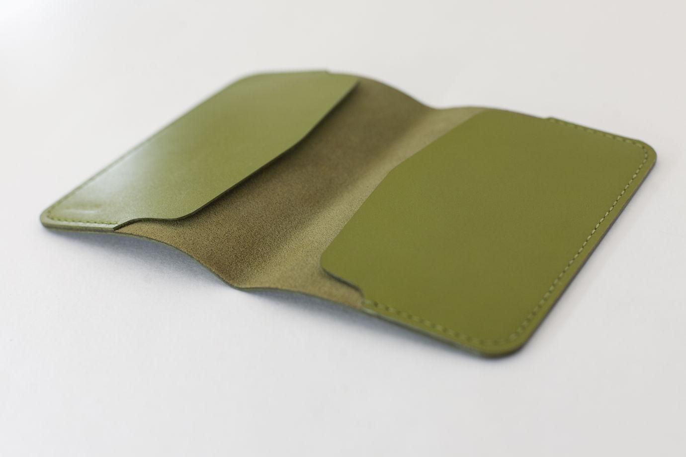 Обложка на паспорт Passport cover зеленая