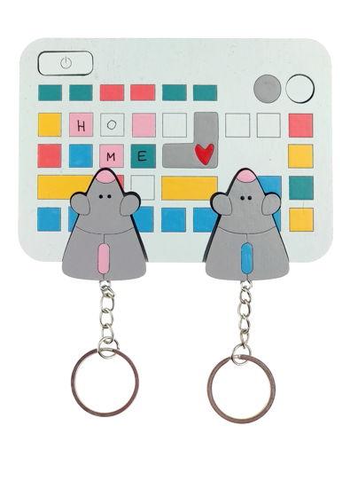 ключница «мышь клавиатура х2»
