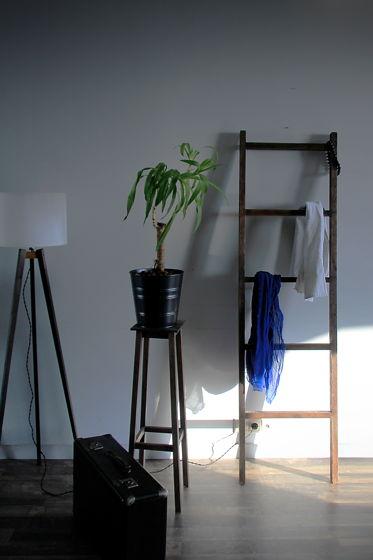 Лестница-вешалка для вещей