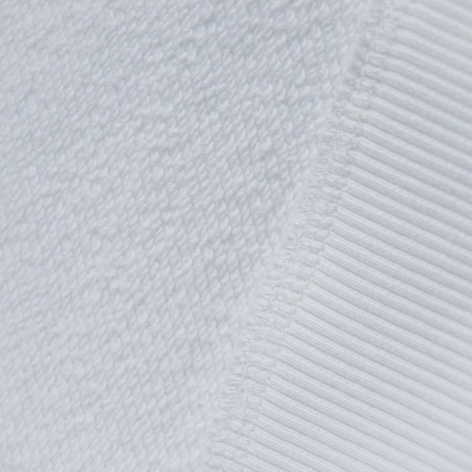 Белая худи из 100% органического хлопка