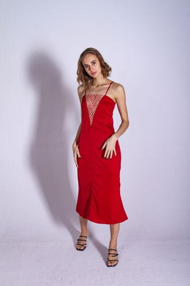 Атласное Платье Комбинация