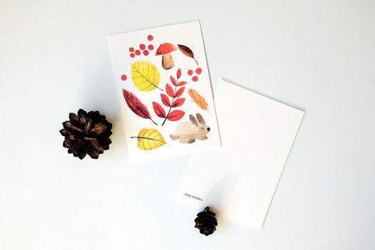 Лиричные осенние открытки