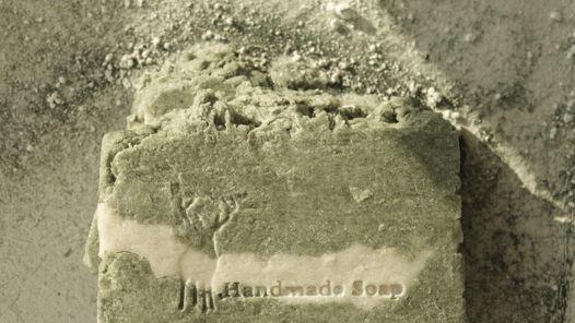 Натуральное мыло с нуля из водорослей и глины