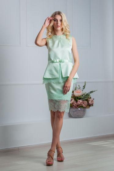 Костюм: блуза+юбка