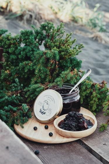 Камчатское варенье из шикши и яблок