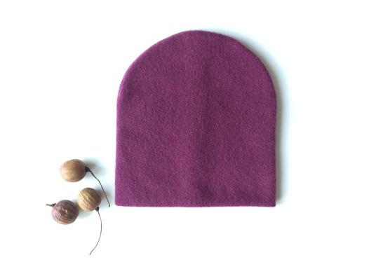 Тёплая шапка Брусника