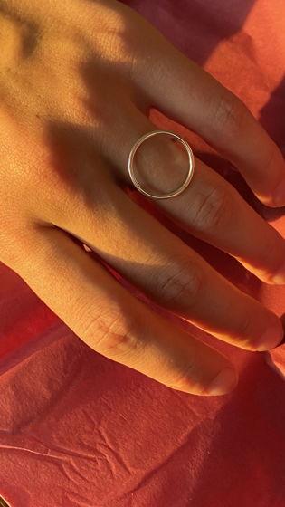 """Серебряное кольцо """"Душа"""""""
