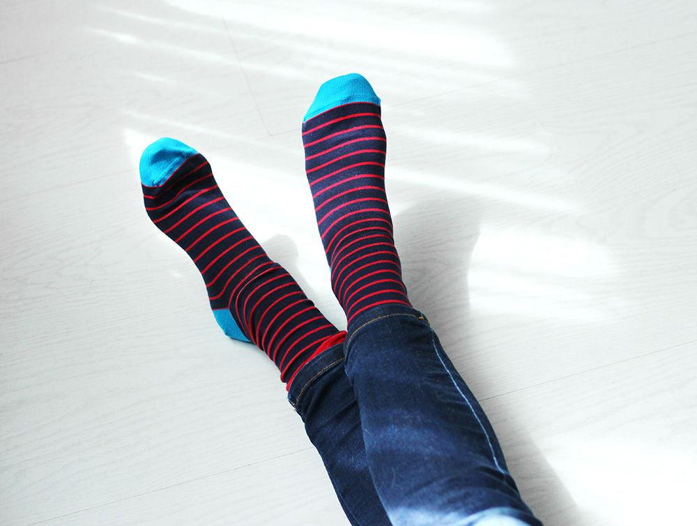 Носки Тонкая полоса/Thin stripe