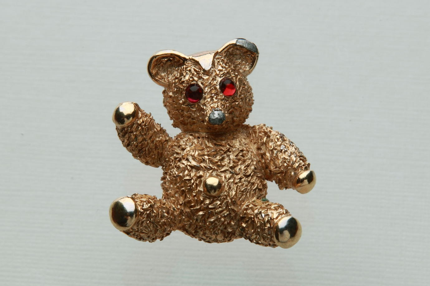 Teddy Bear pin TRIFARI© брошь Мишка