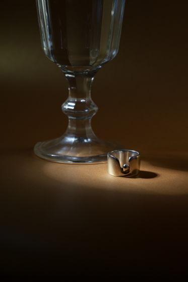 """Широкое серебряное кольцо """"Рождение души"""""""