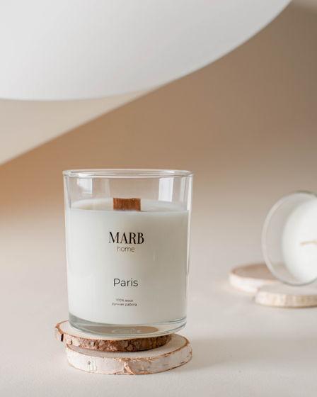 Свеча из натурального соевого воска «Paris» 250мл