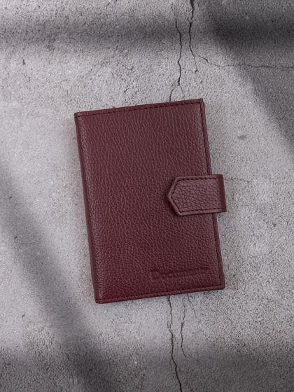 Обложка для автодокументов и паспорта Коричневый