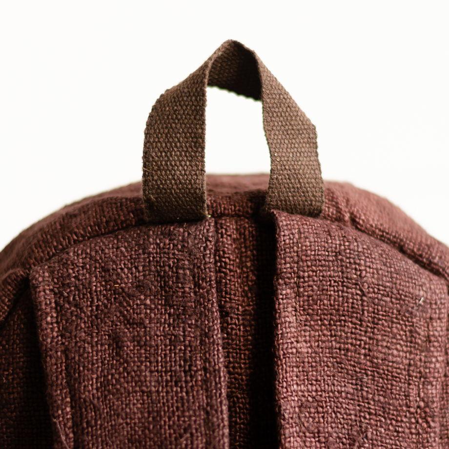 Рюкзак из конопли Патан, коричневый