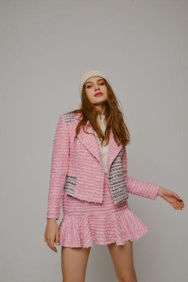 Роскошный костюм из букле Жакет+юбка
